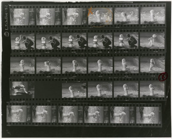 proof sheet 14 by lawrence schiller