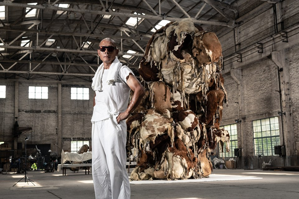 art exhibition - portrait of an artist: zhang huan