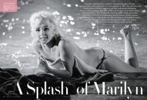 press - the lost marilyn monroe nudes: outtakes from her last on-set shoot revealed in june's v.f.
