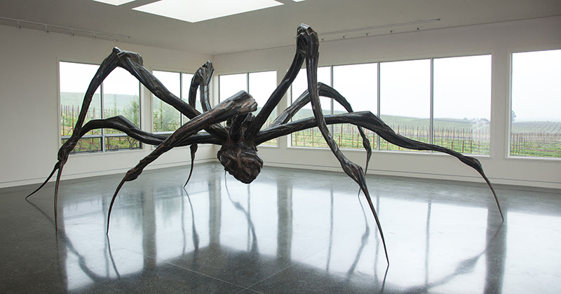Louise-Bourgeois Launch of the sculpture collection at Donum, Sonoma, California