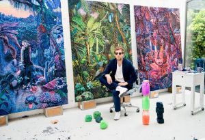 art event - henry hudson's latest project: sun city tanning