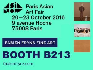 art event - asia now art fair in paris