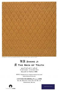 art event - zhang ji: the skin of truth